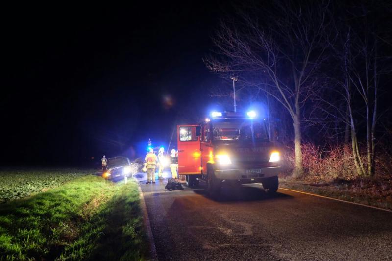 Gestohlenes Auto in Brand gesetzt