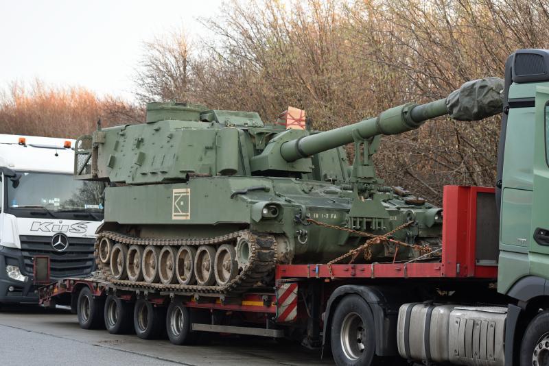So ging es nicht weiter: Panzertransport gestoppt