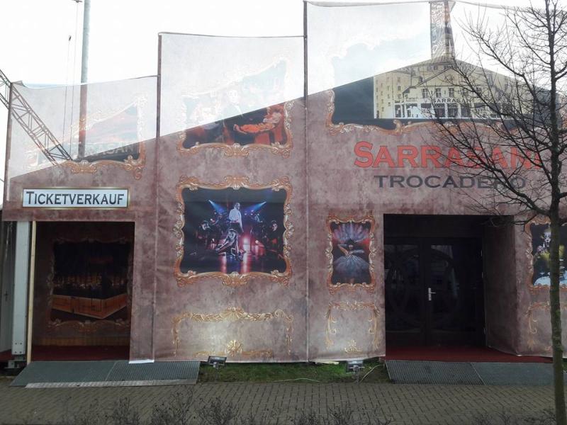 Sarrasani-Vorstellung abgesagt