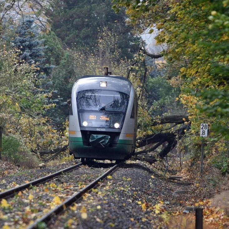 Bahnverkehr eingestellt