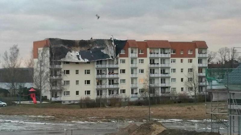 Neue Bilder: Friederike: Feuerwehren im Dauereinsatz