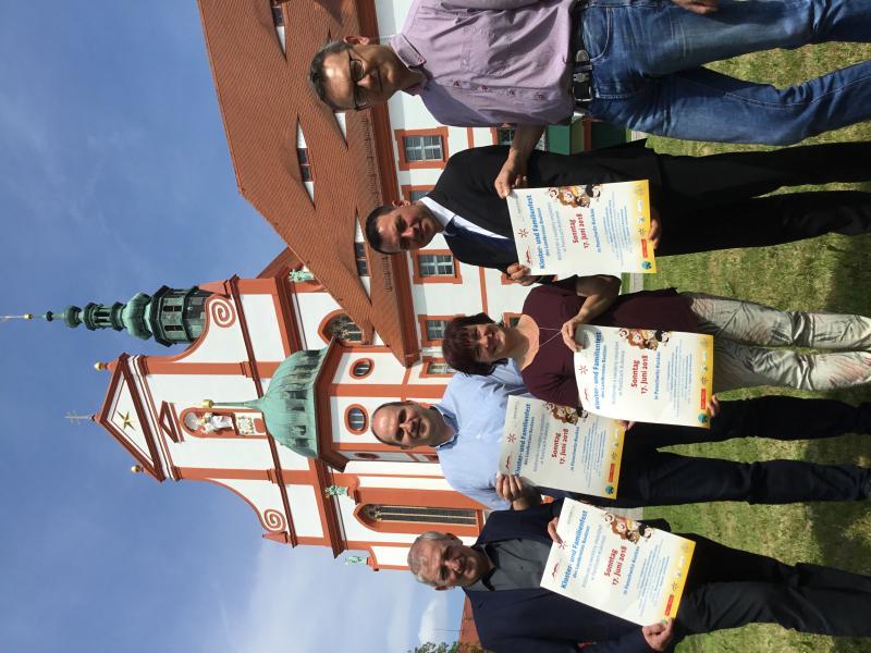 Kloster und Familienfest zum Landkreisjubiläum
