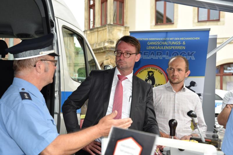 Innenminister Prof. Dr. Roland Wöller informiert sich in Görlitz und Zittau zur Sicherheitslage in der grenznahen Region
