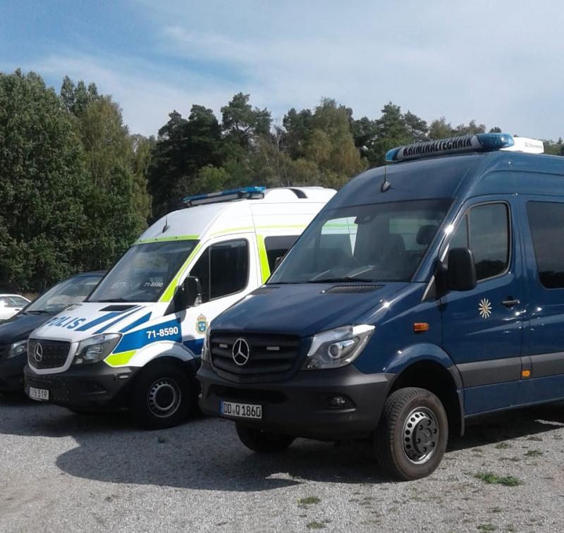Görlitzer Kriminaltechniker unterstützen in Schweden