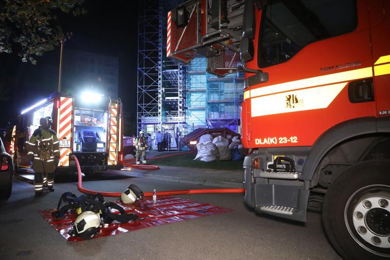 Wohnungsbrand im Hochhaus  1 Toter