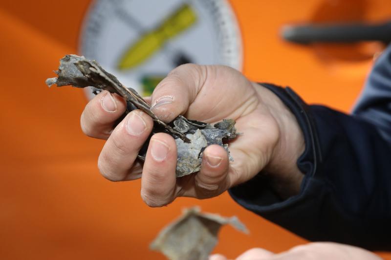 Fundmunition in der Dippoldiswalder Heide gesprengt