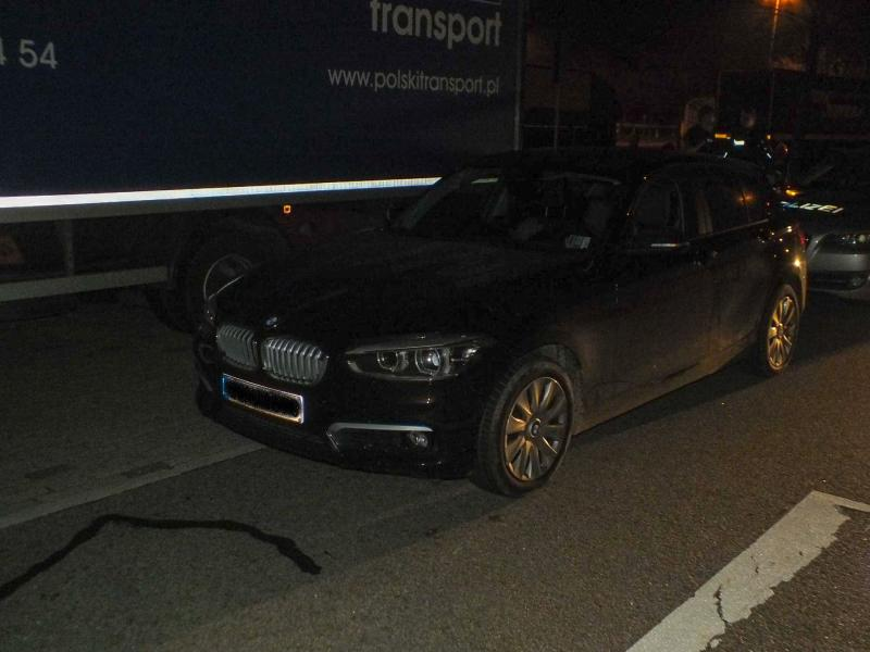 Fluchtversuch unterbunden  Festnahme eines Autodiebes auf der Autobahn
