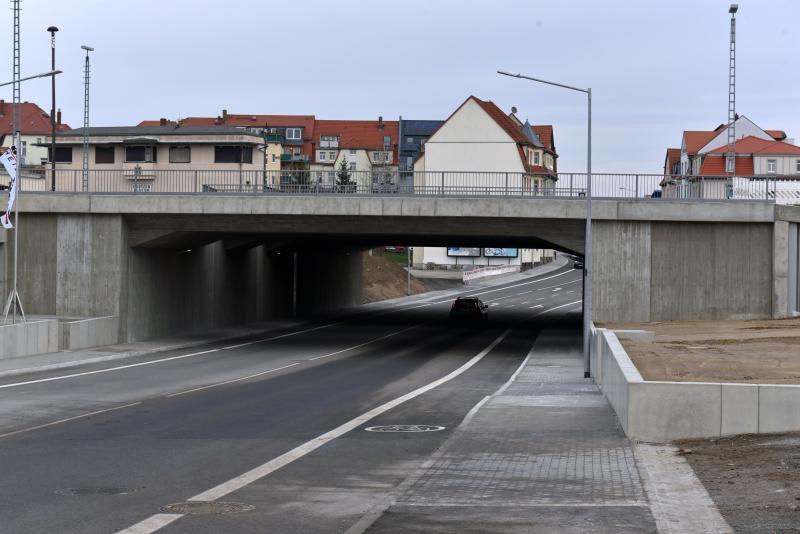 Zeppelinstraße wieder befahrbar