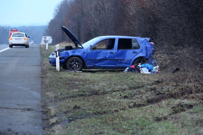 Autos kollidierten auf der Autobahn  3 Verletzte
