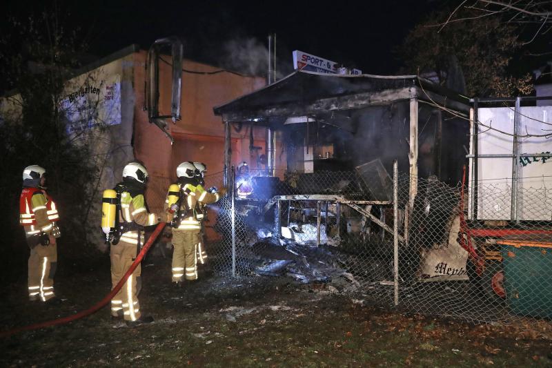Imbisswagen abgebrannt