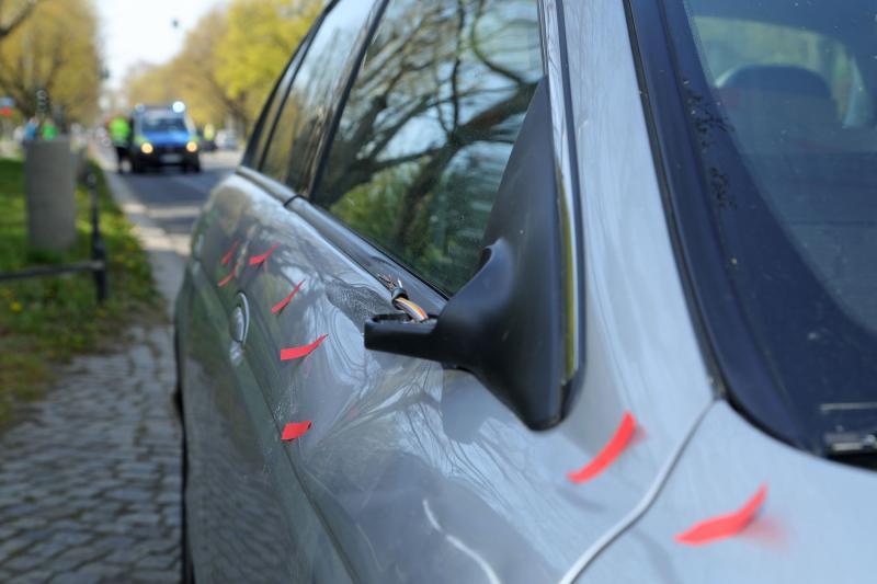 PKW kollidierte mit Radfahrer  1 Schwerverletzter