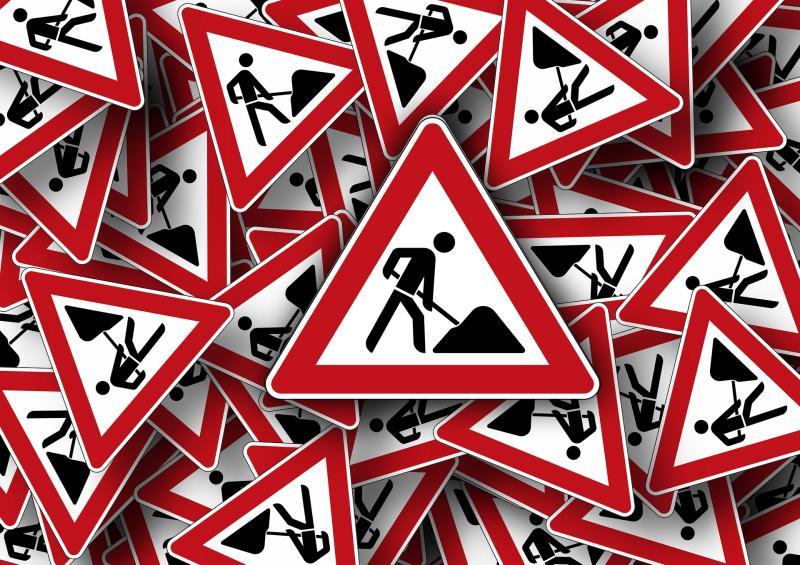 Karl-Marx-Straße am Samstagnachmittag gesperrt
