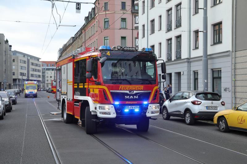 Entstehungsbrand in Küche  2 Verletzte