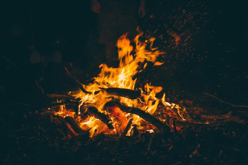 Verbot offener Feuer