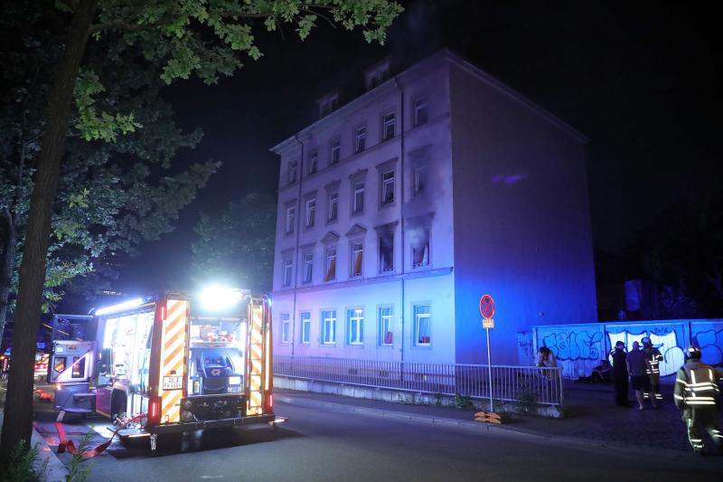 Brand in Obdachlosenunterkunft  1 Toter