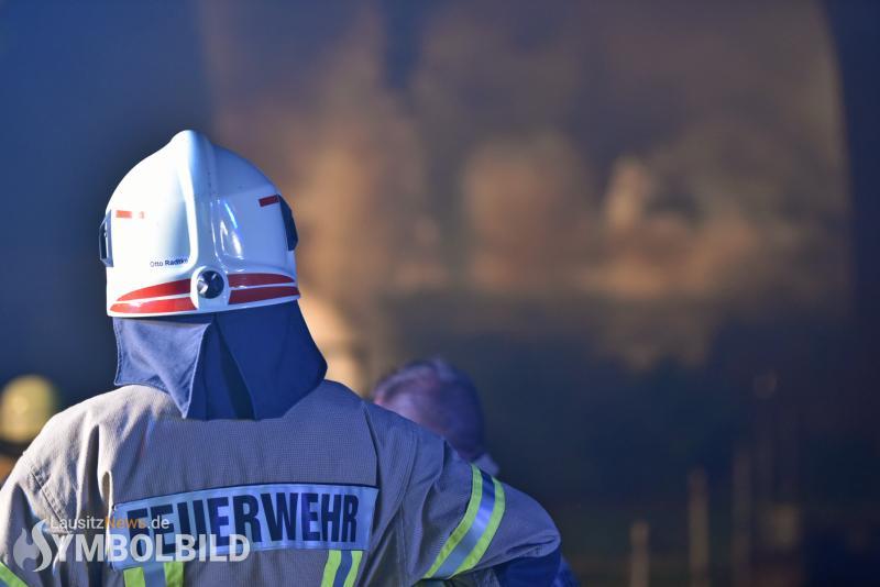 Zimmerbrand in Asylbewerber-Gemeinschaftsunterkunft