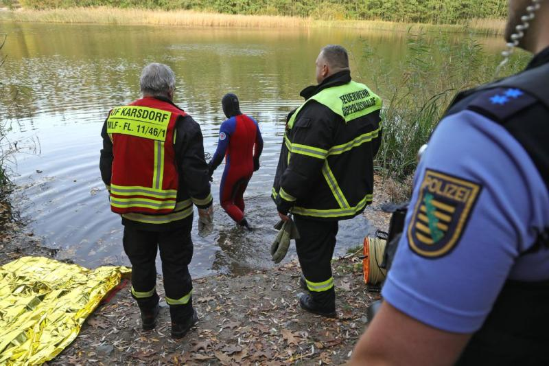 Ertrinkungsunfall: Angler im Heidemühlenteich ertrunken