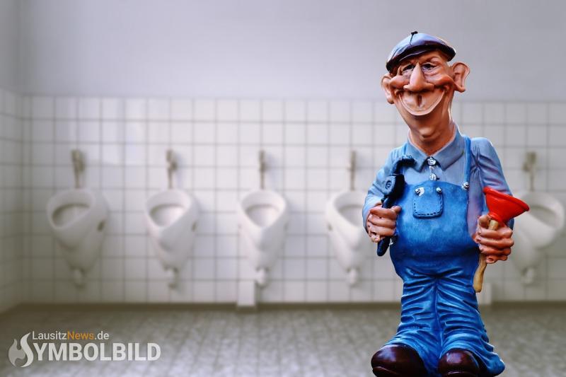 Toiletten am Rathaus werden renoviert