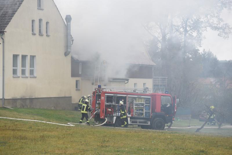 Brand in Spänebunker einer Tischlerei