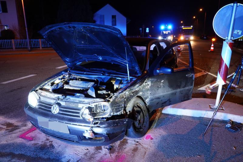 5 Verletzte nach Unfall