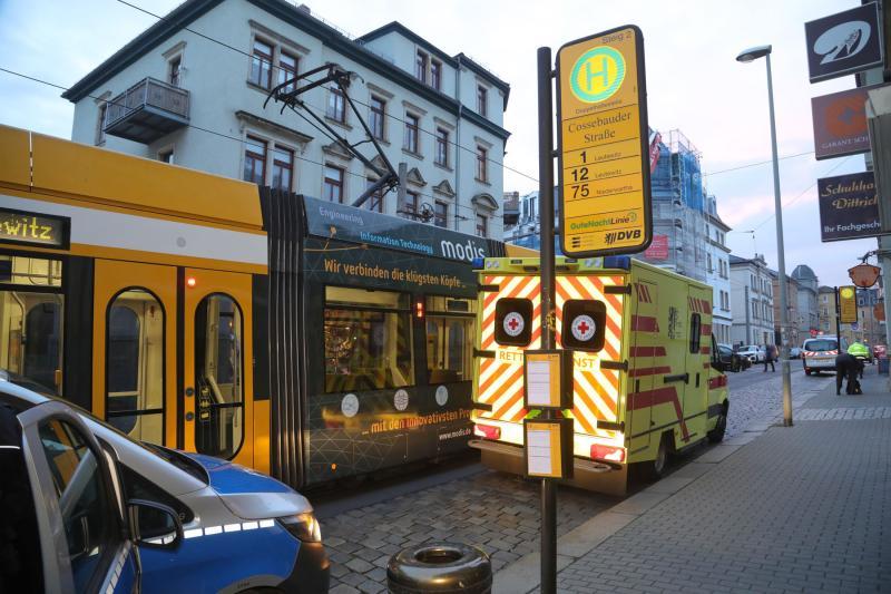 Kind kollidierte mit Straßenbahn