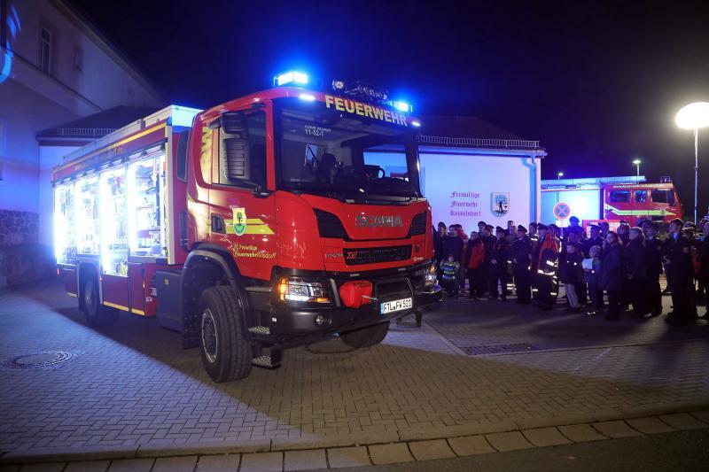 Neuer Rüstwagen für die Feuerwehr Wilsdruff