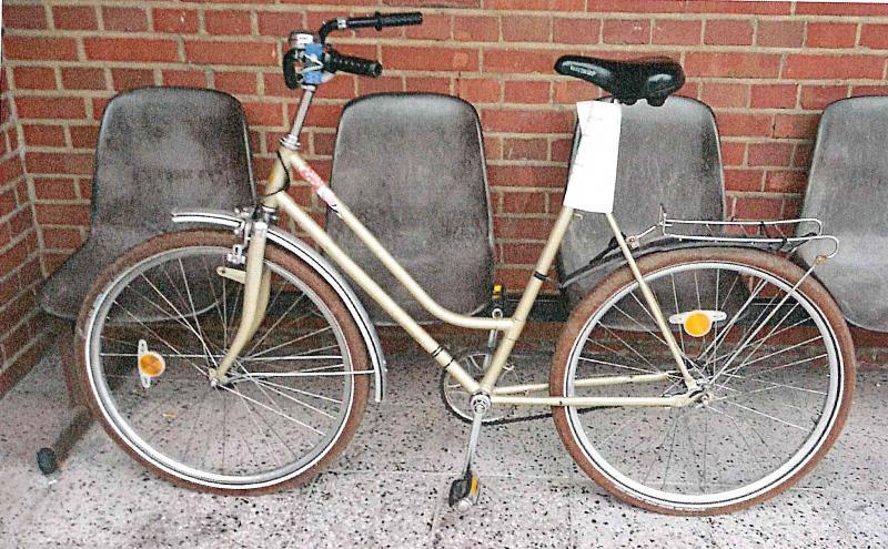 Fahrrad sucht Besitzer