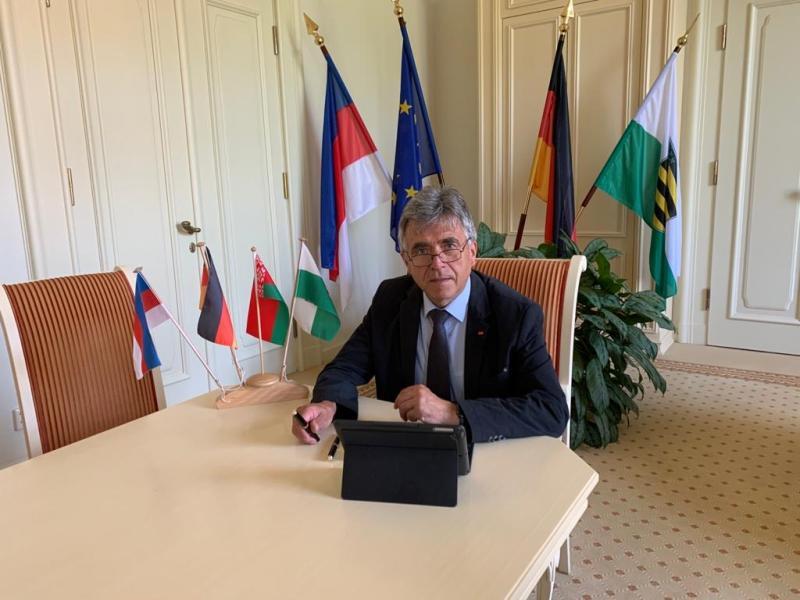 Landrat Harig nahm an Minsker Konferenz teil