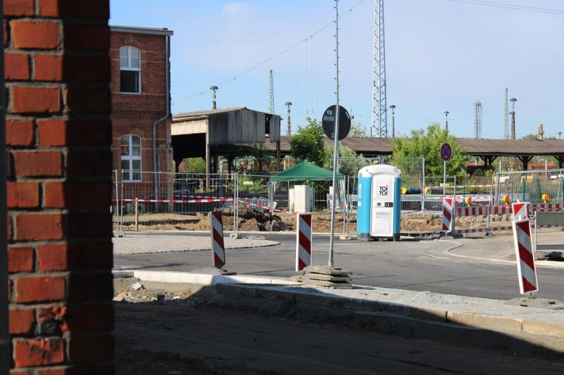 Bombe an Bahnhof soll entschärft werden