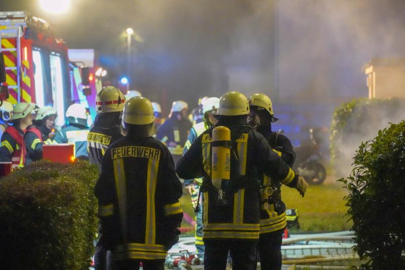 3 Verletzte nach Kellerbrand