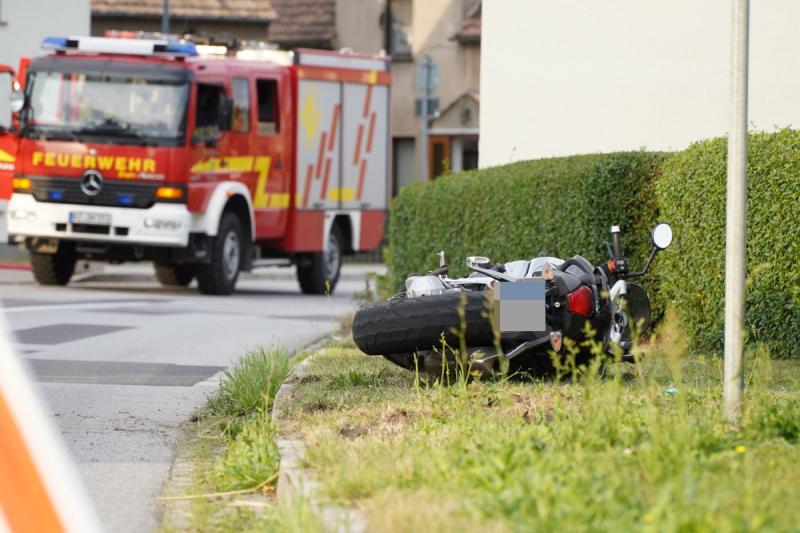 Guttau - Motorradfahrer verunfallt
