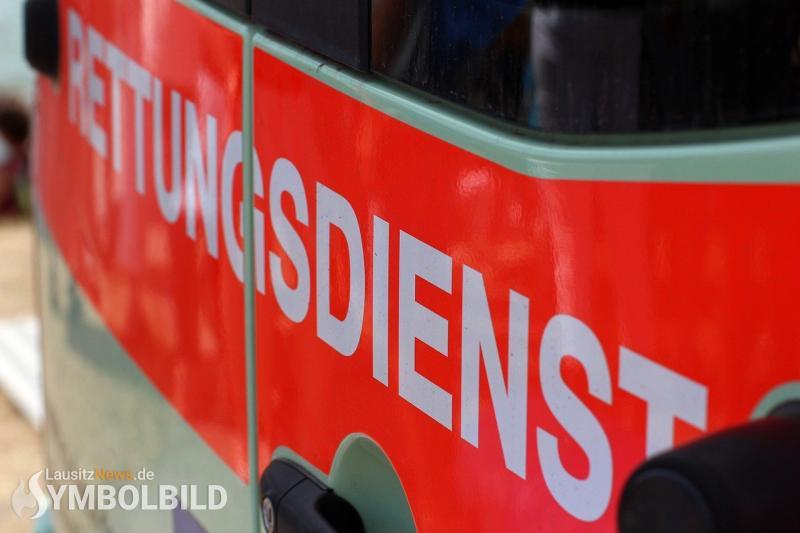 Verletzte bei Unfall an der Anschlussstelle Bautzen-Ost