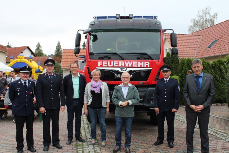 Neues Tanklöschfahrzeug für die Freiwillige Feuerwehr Schwarzkollm