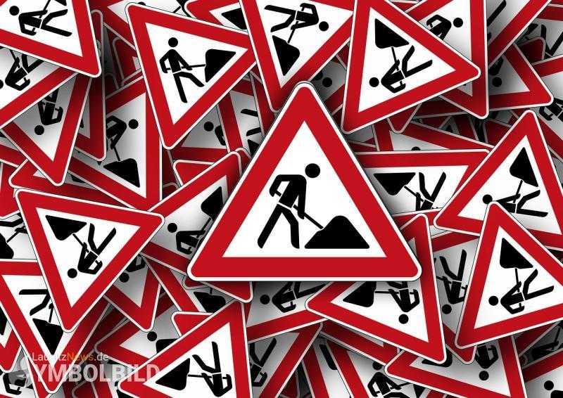 Sanierungsarbeiten an der A4 Brücke Brabschützer Berg