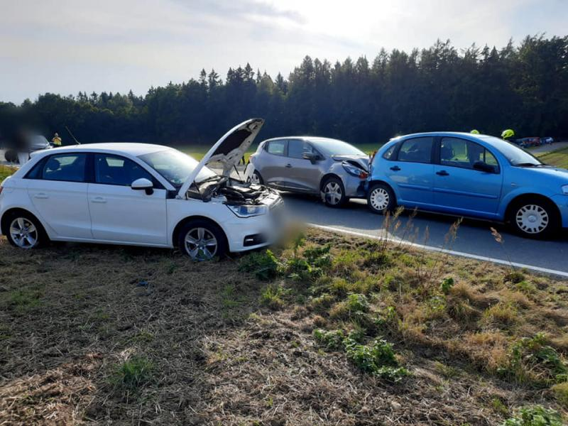 2 Verletzte nach Verkehrsunfall
