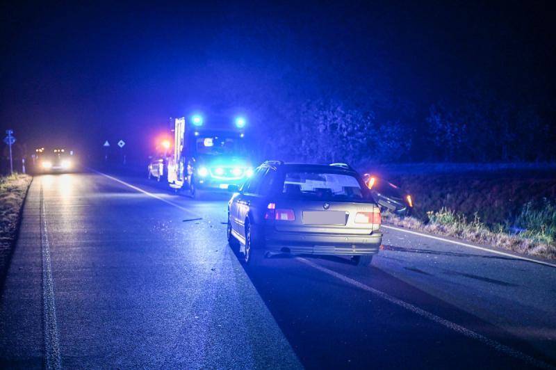 Unfall auf der B6 - 2 Verletzte