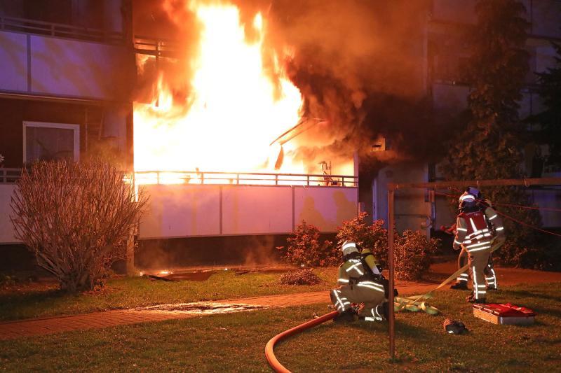 Schwere Brandstiftung in Dresden