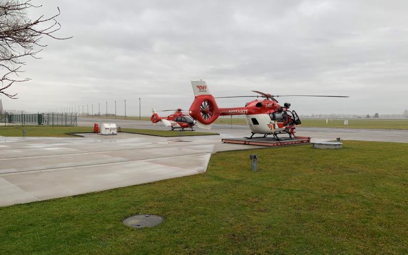 """DRF Luftrettung stellt weiteren Hubschrauber in Dienst """"Christoph 114"""""""