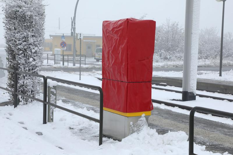 Fahrkartenautomaten im Dresdner Westen beschädigt
