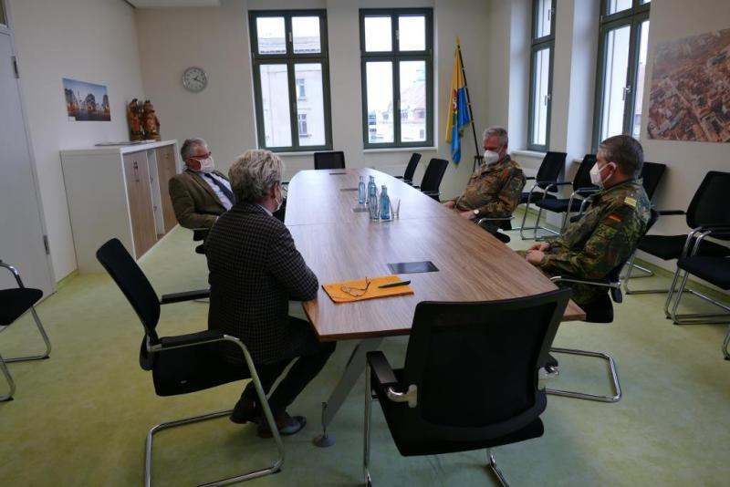 Corona: Bundeswehreinsatz im Landkreis Görlitz und Corona-Hotspots