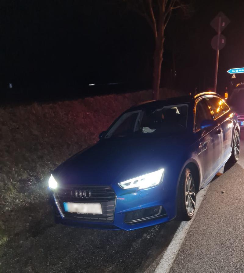 Fahnder bleiben dran: Gestohlener Audi gestoppt