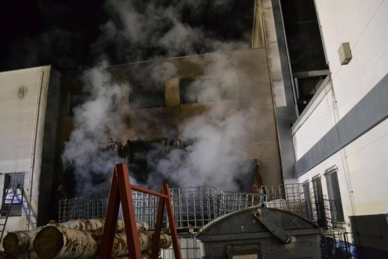 Brandstiftung im Gewerbegebiet