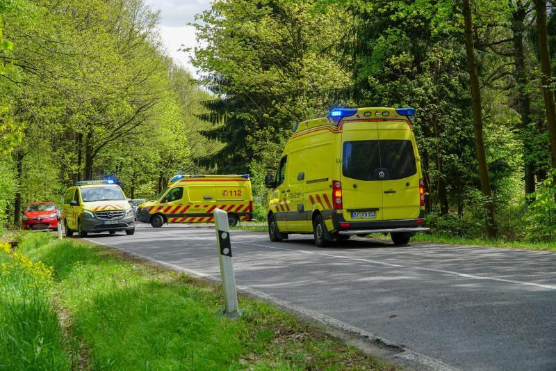 Verkehrsunfall mit leichtverletzter Person