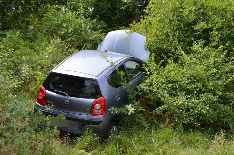 Falsch abgebogen - Fahrerin kommt ins Krankenhaus