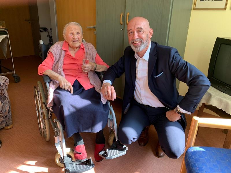 Älteste Bautzenerin feiert 112. Geburtstag