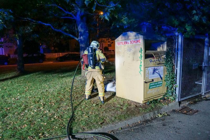 Feuerwehr muss zu Sperrmüllbrand ausrücken